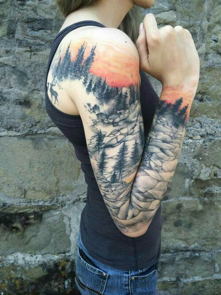 148 Tattoos Ideas for Hunters with their meanings 15