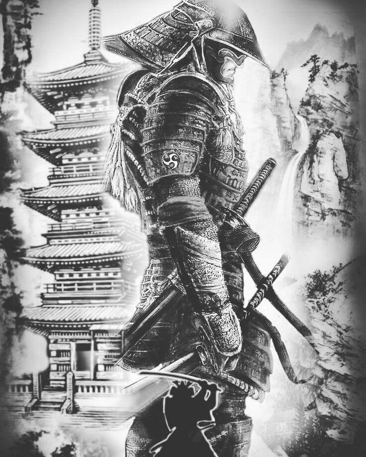 Samurai Tattoo Designs: A History Of War And Honor 23