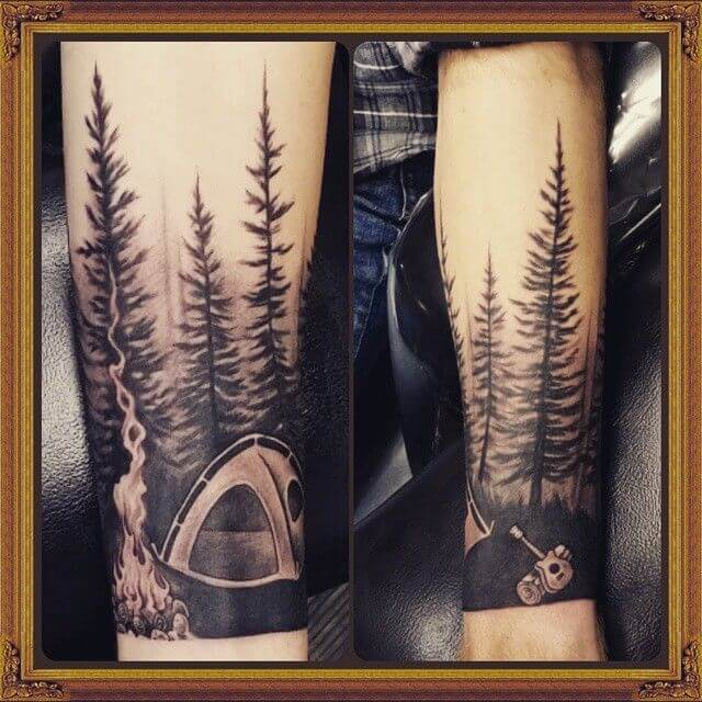 148 Tattoos Ideas for Hunters with their meanings 20