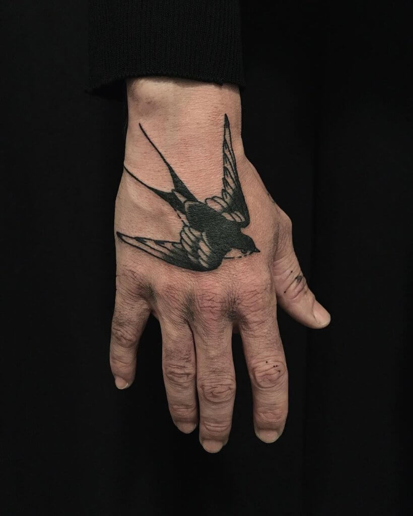 Top sparrow tattoos for a cool and stylish look 26