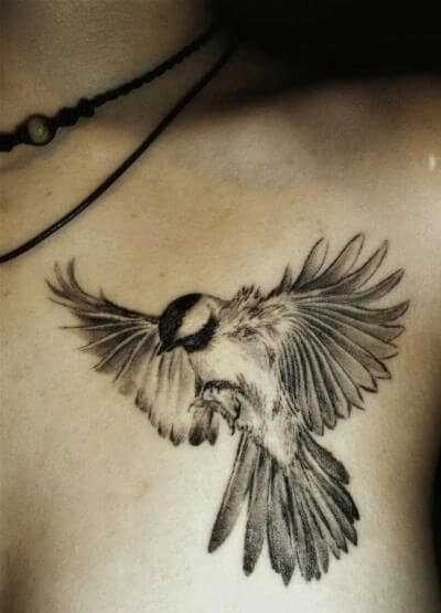 flying sparrow tattoo ideas
