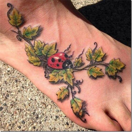 ladybugs tattoo