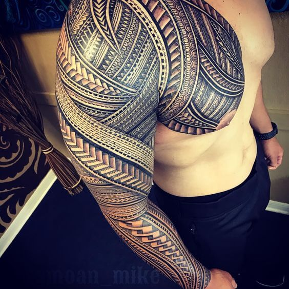95 Best of Traditional and Tribal Hawaiian tattoos - Tattooli.com