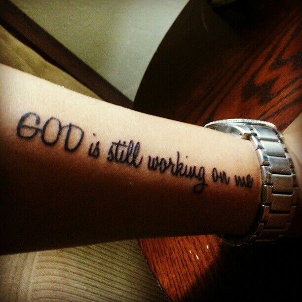 God tattoo quotes