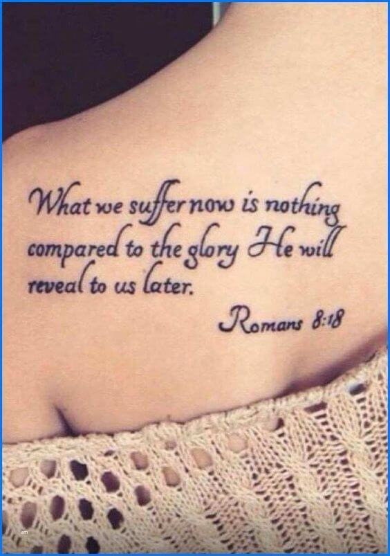 Godly tattoo quotes