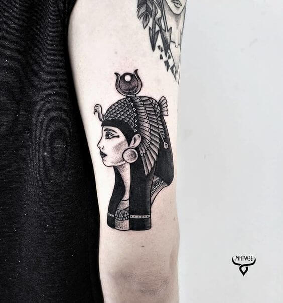 ISIS TATTOO FOR WOMEN