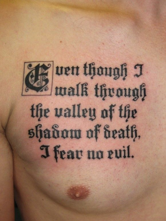 Tattoo quotes about death