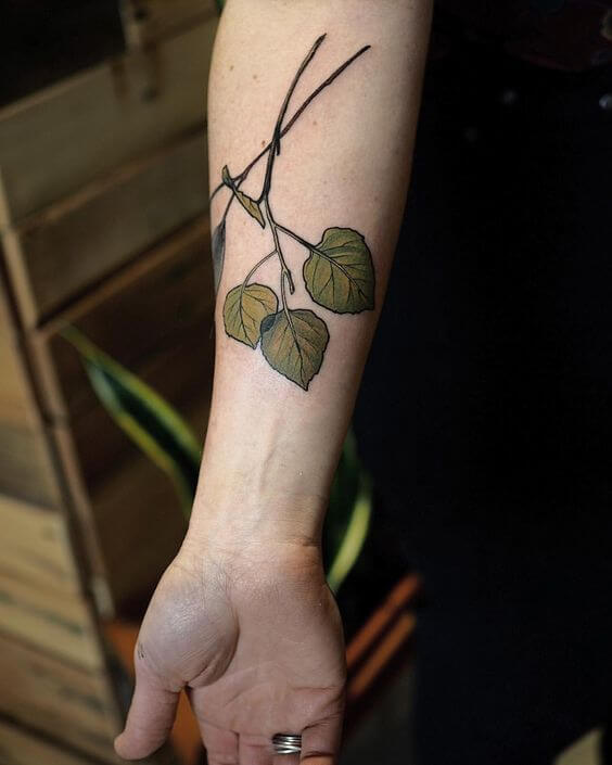 Best 138 Of Leaf Tattoo Meanings With Pictures Tattooli Com