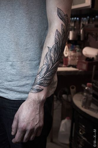 bay leaves tattoo