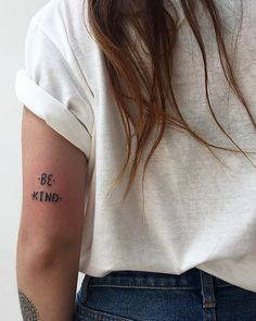 be kind quotes tattoo