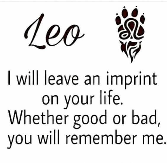 leo tattoo quotes idea