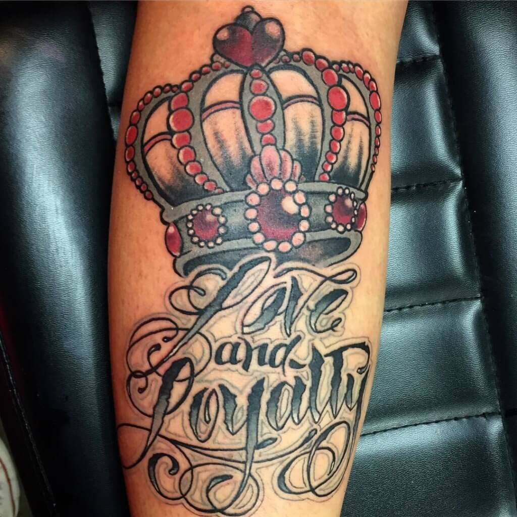 love and loyalty tattoo