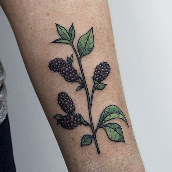 mulberry tattoo