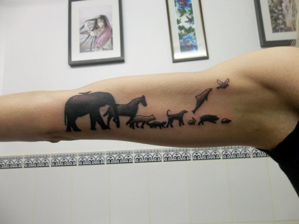 Animal Family Tattoos