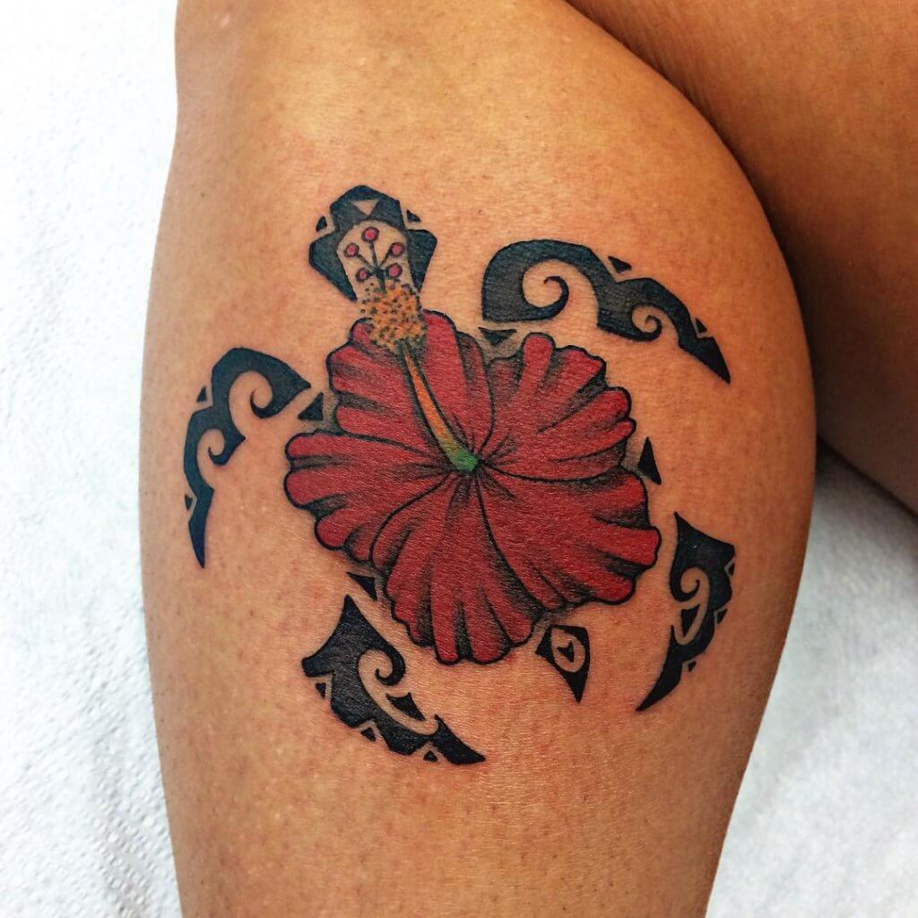 Hawaiian Hibiscus Tattoo