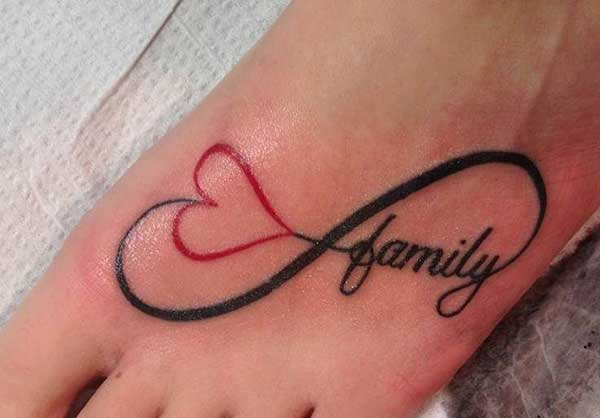 Infinity Family Tattoo