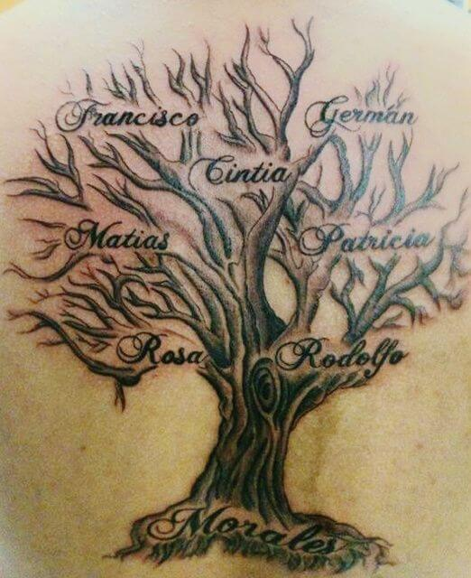 branch family tattoo
