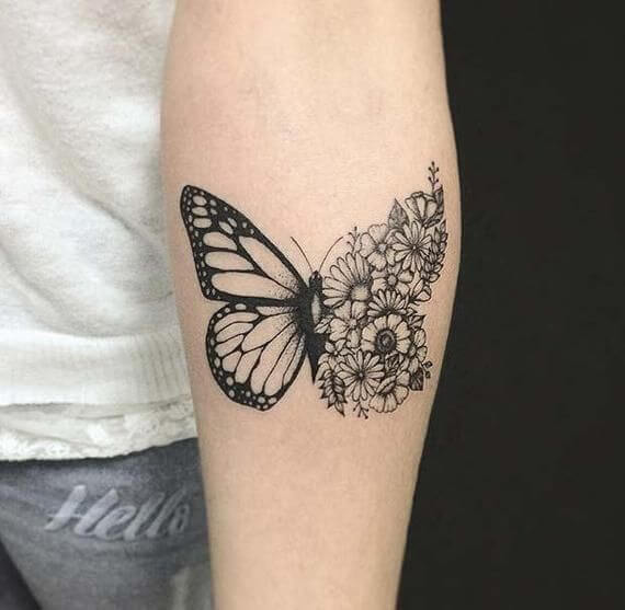 Gorgeous 55 Butterfly tattoos ( History and Meanings ) 19
