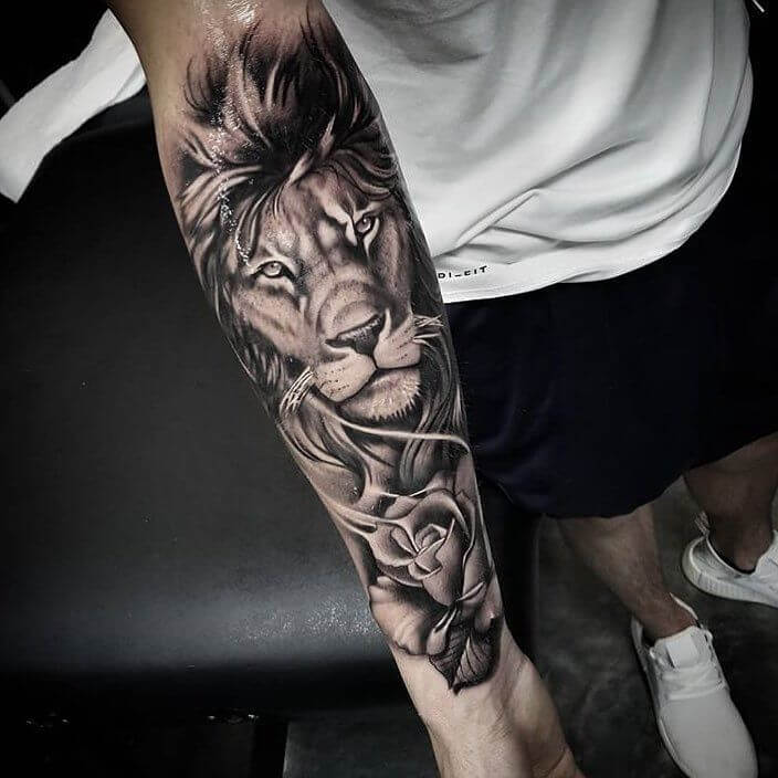 Top 31 Lion Tattoos - In diferent cultures 1