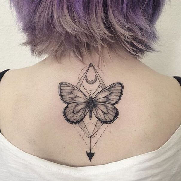 Gorgeous 55 Butterfly tattoos ( History and Meanings ) 11
