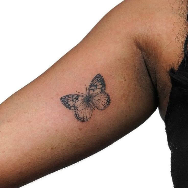 Gorgeous 55 Butterfly tattoos ( History and Meanings ) 7
