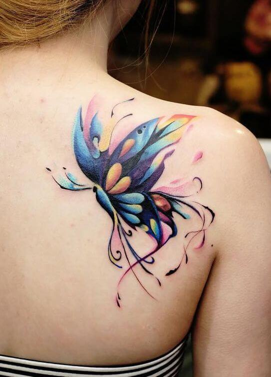 Gorgeous 55 Butterfly tattoos ( History and Meanings ) 13