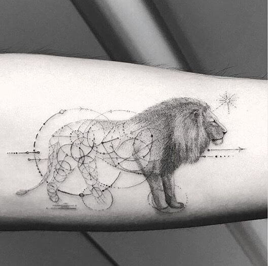 Top 31 Lion Tattoos - In diferent cultures 4