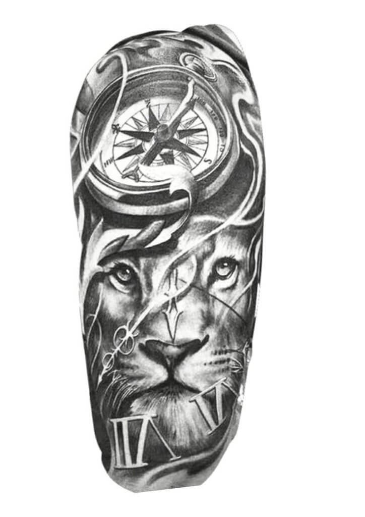 Top 31 Lion Tattoos - In diferent cultures 6
