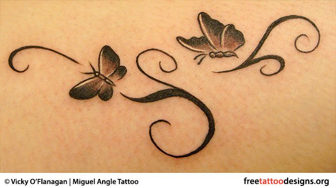 Gorgeous 55 Butterfly tattoos ( History and Meanings ) 4