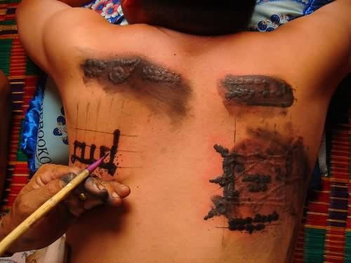 ancient chinese tattoos