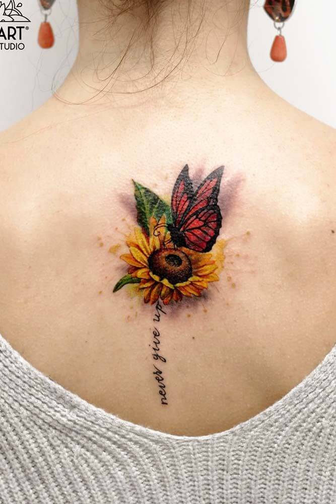 Gorgeous 55 Butterfly tattoos ( History and Meanings ) 24