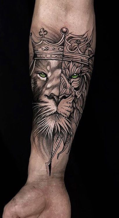 Top 31 Lion Tattoos - In diferent cultures 15