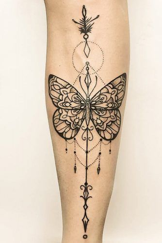 Gorgeous 55 Butterfly tattoos ( History and Meanings ) 28