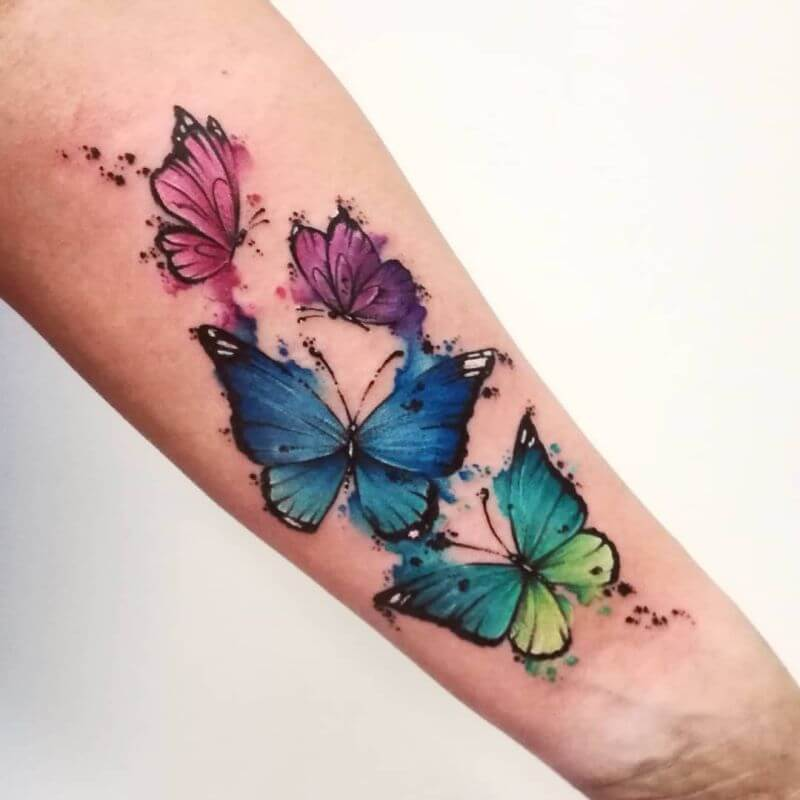 Gorgeous 55 Butterfly tattoos ( History and Meanings ) 27
