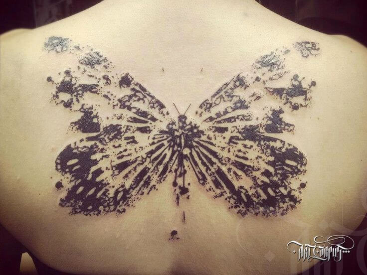 Gorgeous 55 Butterfly tattoos ( History and Meanings ) 29