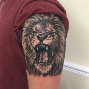 lion tattoo for men