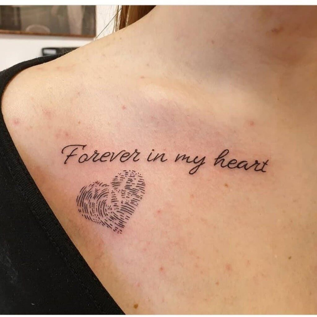 Best 17 Thumbprint Tattoo Ideas [ With Gallery ] 3