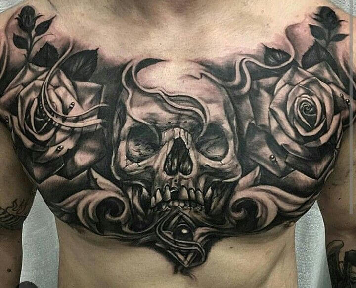 Powerful 58 Chest Tattoos ( With Gallery ) 10