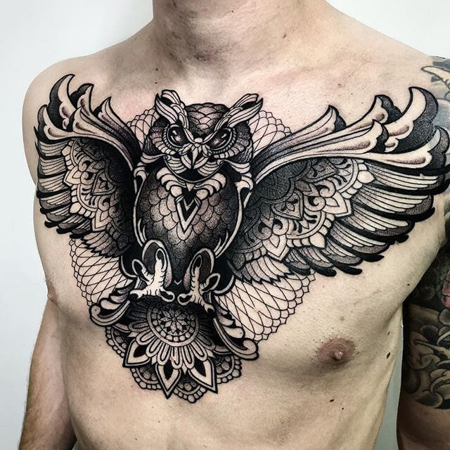 Powerful 58 Chest Tattoos ( With Gallery ) 29