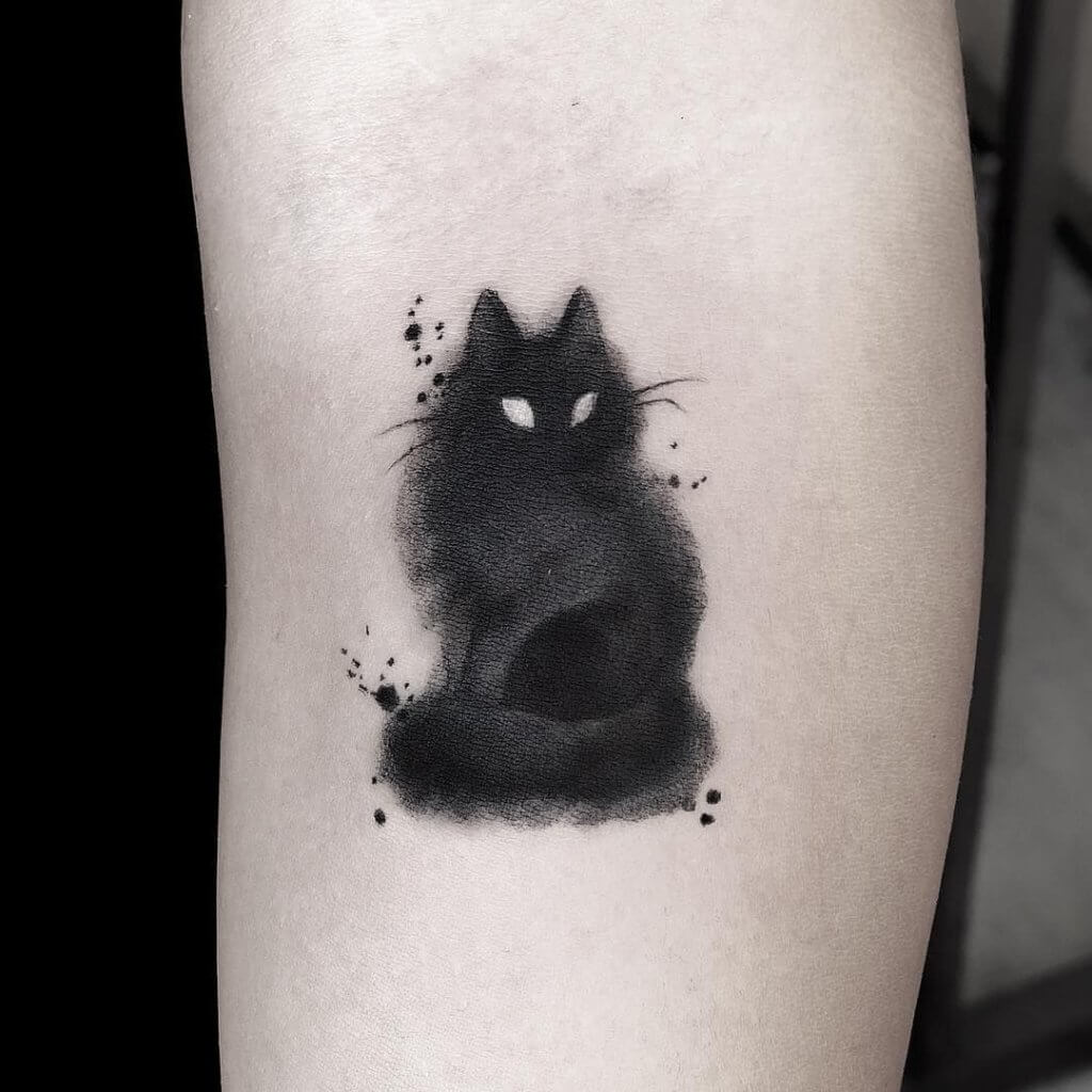 Lovely 45 Cat tattoos ( Meanings and Gallery ) 15