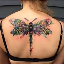 Most Beautiful 17 - Dragonfly Tattoos 8