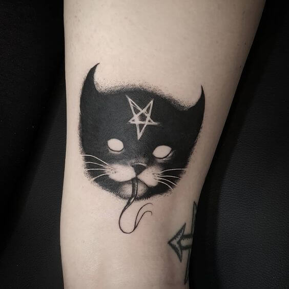 Lovely 45 Cat tattoos ( Meanings and Gallery ) 29