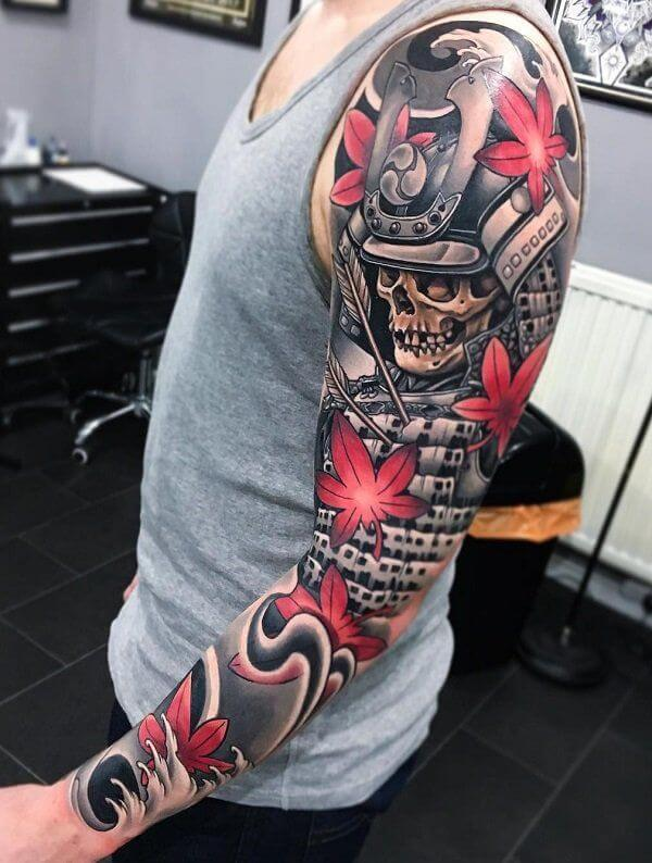 150+ Great Sleeve Tattoos and Selecting Designs 146