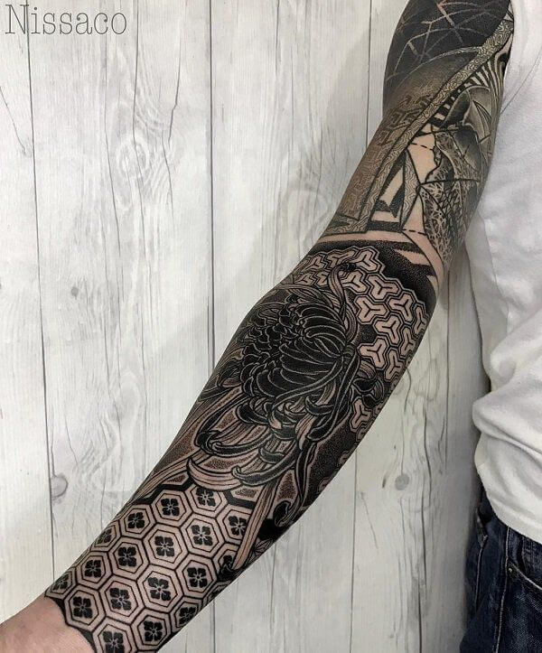 150+ Great Sleeve Tattoos and Selecting Designs 84