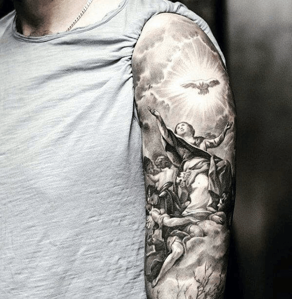 How to Reinvent the Ordinary Angel Tattoo 12