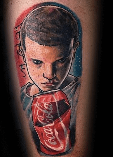 Stranger Things Tattoos - An Introduction To 12 Characters 23