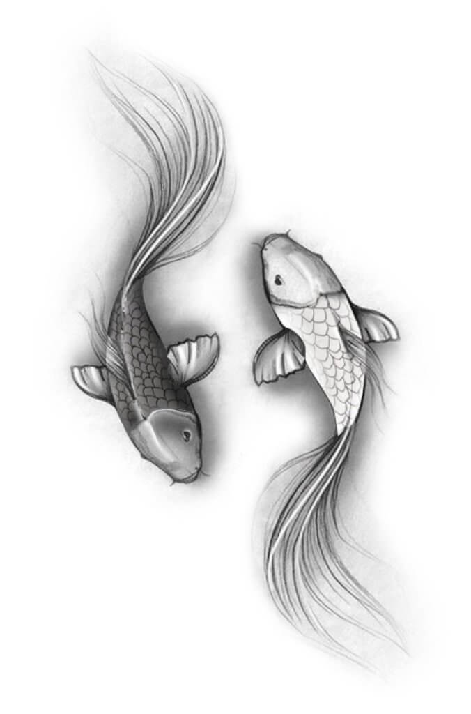 Top 35 Epic Pisces Tattoos 19
