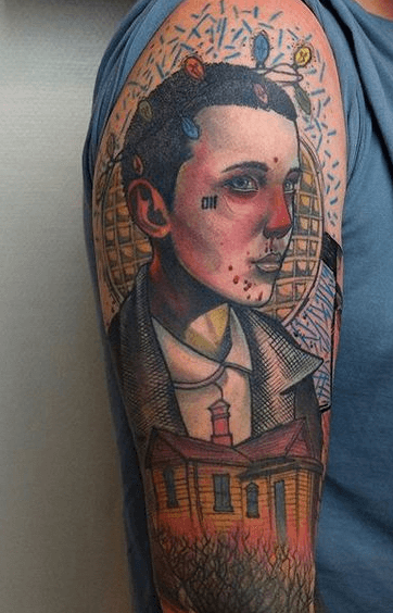 Stranger Things Tattoos - An Introduction To 12 Characters 10
