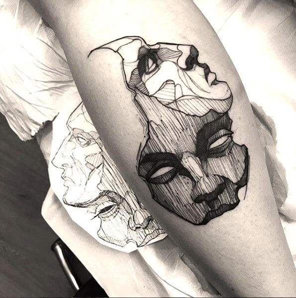 Amazing 58 Ideas for Gemini Tattoos 29
