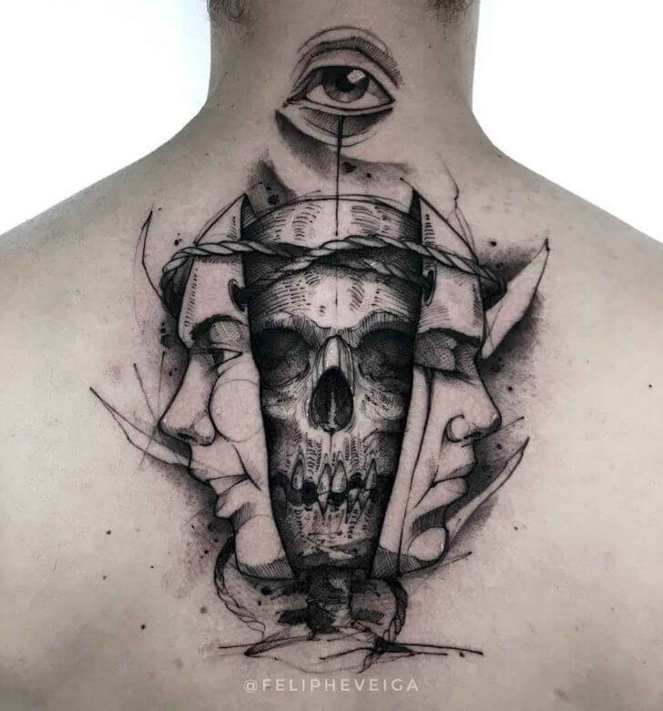Amazing 58 Ideas for Gemini Tattoos 31